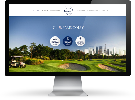 Realisation Club Paris Golfy